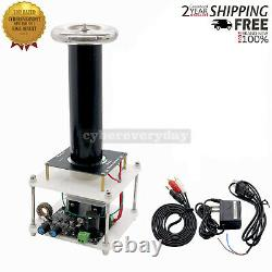 120V Solid Music Tesla Coil High-power Electric Educational Model withAdapter