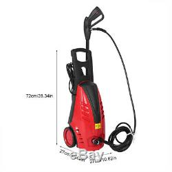 1800W Electric Pressure Washer Water High Power Cleaner+ 4000PSI Spary Gun Kit
