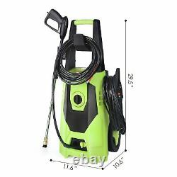 1800 W 1.8 GPM Electric Pressure Washer High Powerful Water Cleaner Gun Hose Kit