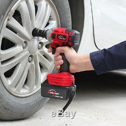 1/2Impact Wrench Brushless Electric battery high torque rattle gun powerful 20V