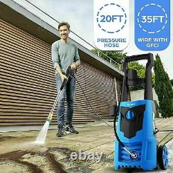 2021 Suyncll Electric Pressure Washer 3000PSI, 2.4GPM High Power Washer Cleaner