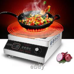 220V 5000W Commercial Induction Cooker Flat Surface High Power Electric Cooker