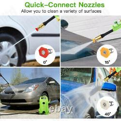 2300PSI 1.6GPM Electric Pressure Washer High Power Water Cleaner Portable US