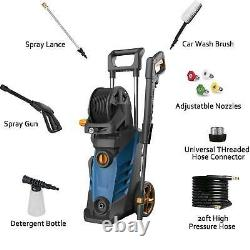 30003800PSI 2.8GPM Electric Pressure Washer High Powerful Water Cleaner Machine