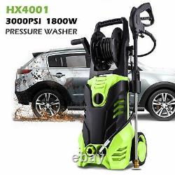 3000PSI 1.80GPM Electric Pressure Washer High Power Water Cleaner Machine 1800W