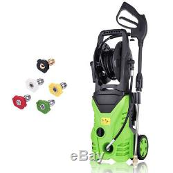 3000PSI 1.8GPM Electric Pressure Washer High Power Water Cleaner Machine 1800W