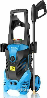 3000PSI 1.8GPM Electric Pressure Washer High Power Water Cleaner Machine Blue US