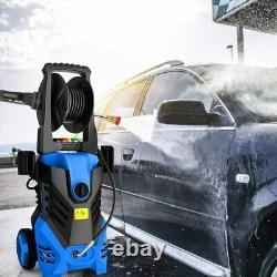 3000PSI 1.8GPM Electric Pressure Washer High Power Water Cleaner Sprayer Blue