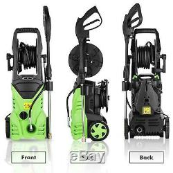 3000PSI 1.8GPM Electric Pressure Washer High Power Water Cold Cleaner Machine US