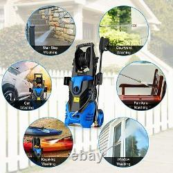 3000PSI 1.8GPM Electric Pressure Washer High Powerful Water Cleaner Machine Kit