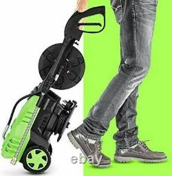3000PSI 2.0GPM Electric Pressure Washer 2000W High Power Water Cleaner Machine01