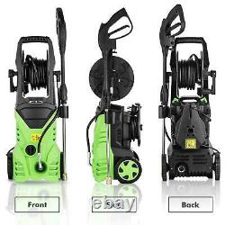 3000PSI 2.0GPM Electric Pressure Washer 2000W High Power Water Cleaner Machine /