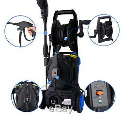 3000PSI 2.40GPM Electric Pressure Washer High Power Water Cleaner Machine Blue