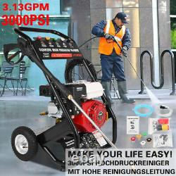 3000PSI 3600RPM Gas Powered Cold Water High Pressure Washer 7HP 215cc 4-Stroke