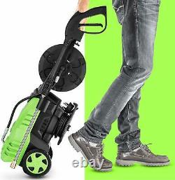 3000 PSI 1800W 1.8GPM Electric High Pressure Washer Power Cleaner Machine 5Tips