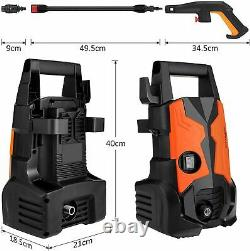 3500PSI 2.4GPM Electric Pressure Washer High Power Water Cleaner Sprayer Kit US