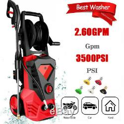 3500PSI 2.60GPM Electric Pressure Washer, High Power Water Cleaner Machine Kit