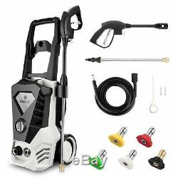 3500PSI 2.60GPM Electric Pressure Washer. High Power Water Cleaner Machine Kit #