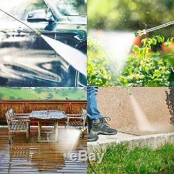 3500PSI 2.60GPM Electric Pressure Washer Home High Power Water Cleaner Machine