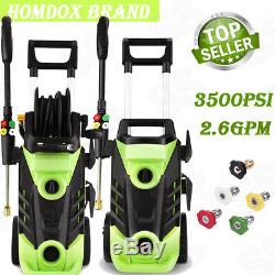 3500PSI 2.6GPM Electric High Power Pressure Washer Household Cleaner Machine New