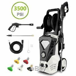 3500PSI 2.6GPM Electric Pressure Washer High Power Car Water Cleaner Machine Kit