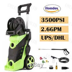 3500PSI 2.6GPM Electric Pressure Washer High Power Car Water Cleaner Machine US