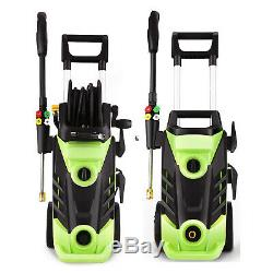 3500PSI 2.6GPM Electric Pressure Washer High Power Cleaner Sprayer 5 Nozzles'