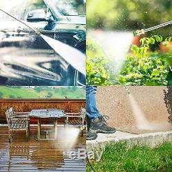 3500PSI 2.6GPM Electric Pressure Washer High Power Cold Water Cleaner Machine