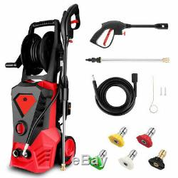 3500PSI 2.6GPM Electric Pressure Washer High Power Cold Water Cleaner Machine R2