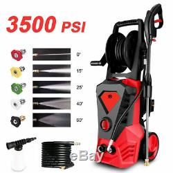 3500PSI 2.6GPM Electric Pressure Washer High Power Cold Water Cleaner Sprayer