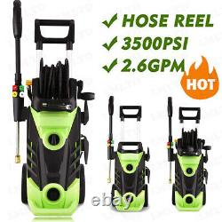 3500PSI 2.6GPM Electric Pressure Washer High Power Household Cleaning Machine US