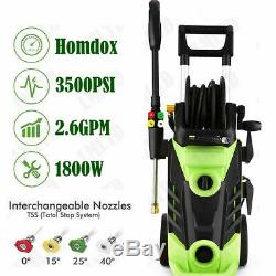 3500PSI 2.6GPM Electric Pressure Washer High Power Water Cleaner Jet Machine Kit