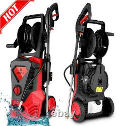 3500PSI 2.6GPM Electric Pressure Washer High Power Water Cleaner Machine US