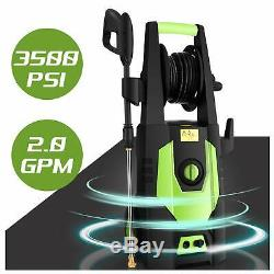 3500PSI 2.80GPM Electric Pressure Washer, High Cold Water Power Cleaner Machine
