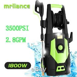 3500PSI 2.80GPM Electric Pressure Washer High Cold Water Power Cleaner Machine