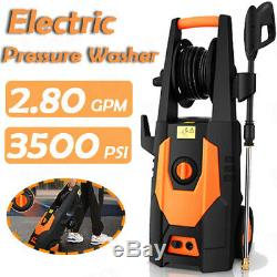 3500PSI 2.80GPM Electric Pressure Washer High Power Water Cleaner Machine KIt #