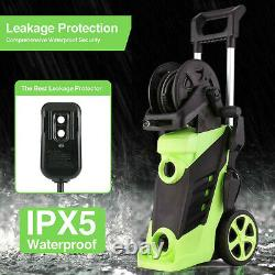 3500PSI / 2.8 GPM Electric Pressure Washer 200W High Power Water Cleaner Machine