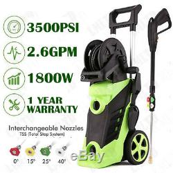 3500PSI 2.8 GPM Electric Pressure Washer High Power Water Cleaner Machine Tank