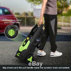3500PSI High Power Water Electric Pressure Washer 1800W 2.8GPM Cleaner Machine B