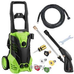 3500PSI High Power Water Electric Pressure Washer 2.6 GPM Cleaner Machine US