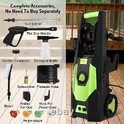 3500PSI Pressure Washer Electric, 2.0GPM High Power Washer Cleaner Machine NEW