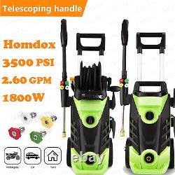 3500 PSI 2.6GPM Electric Pressure Washer High Powerful Water Cleaner Machine Kit