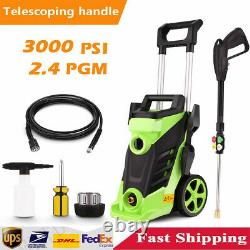 3800PSI-2300PSI 3.0GPM Electric Pressure Washer Water Cleaner High Power Sprayer