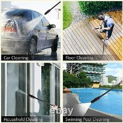 3800PSI 2.6GPM Electric Pressure Washer High Power Cold Water Cleaner Sprayer-A+