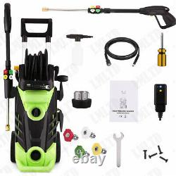 3800PSI / 2.8GPM Electric Pressure Washer 2000W High Power Water Cleaner Machine
