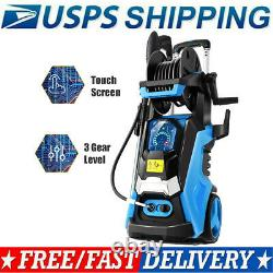 3800PSI 2.8GPM Electric Pressure Washer High Power Cold Water Washing Machines\