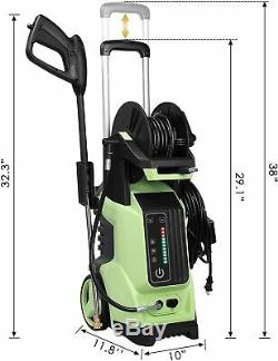 3800PSI 2.8GPM Electric Pressure Washer High Power Water Cleaner Machine Kits US