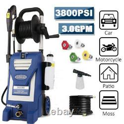 3800PSI 3.00GPM Electric Pressure Washer High Power Cold Water Cleaner Machine