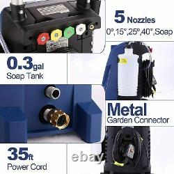 3800PSI 3.00GPM Electric Pressure Washer High Power Cold Water Cleaner Machine`