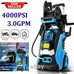 3800PSI 3.0GPM Electric Pressure Washer High Power Cleaner Water Sprayer h